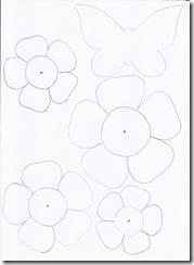 fiori in scala per mobiles con cannucce 1
