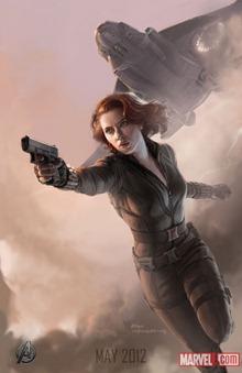 Black Widow Avengers สรุปข่าวรอบสัปดาห์ ภาพยนตร์ The Avengers [24-July-2011]