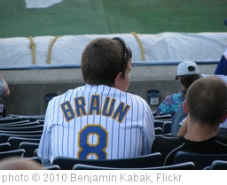 'Ryan Braun Jersey' photo (c) 2010, Benjamin Kabak - license: http://creativecommons.org/licenses/by-nd/2.0/