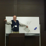 Scott氏による基調講演の模様 / The seminar started with the keynote lecture by Prof. Scott.