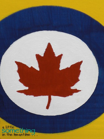 RCAF Symbol Zoomed