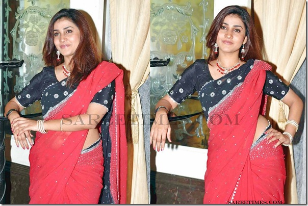 Kousha_Red_Saree