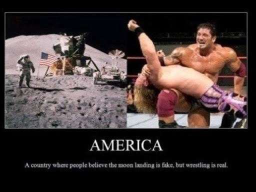 Thats What People Believe In America wwe