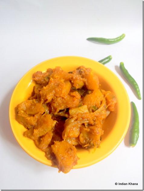 pumpkin kaddu humhara sabzi recipe
