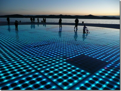 Croatia Cruising Companion - Zadar Greeting To The Sun