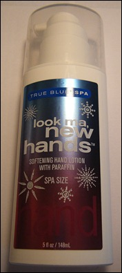 True Blue Spa Look Ma, New Hands