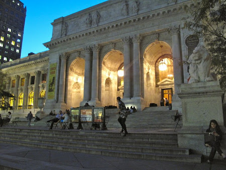 Sex and the City hotspots with On Location Tours:The end - The New York Public Library
