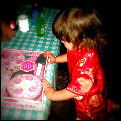 toy bday cake