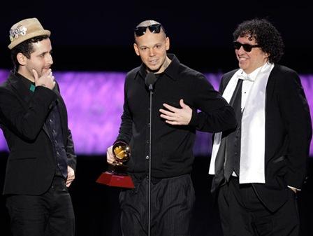 Calle 13 gana 4 grammys
