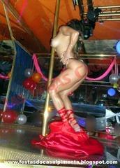 Stripper Joana na Las Vegas