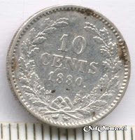 Afb. 1 10 cents 1880