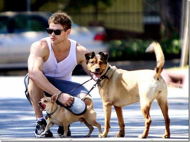 Celebridades e seus cães (3)