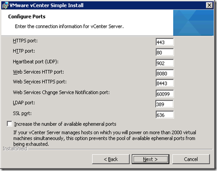 27_vCenter Server Configure Ports