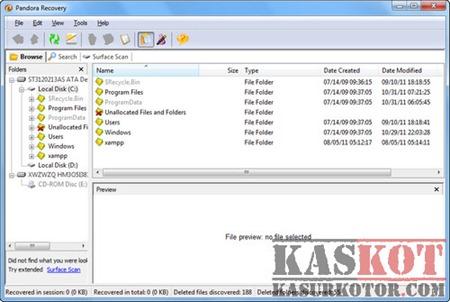 Pandora Recovery – Mengembalikan Semua Jenis File yg Terhapus 2