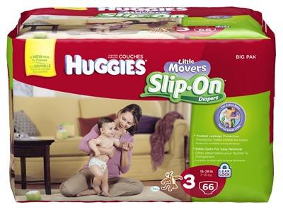 HUGGIES® Little Movers Slip-On® Diaper Pants