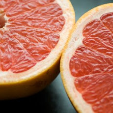Grapefruit topped with burnt brown sugar