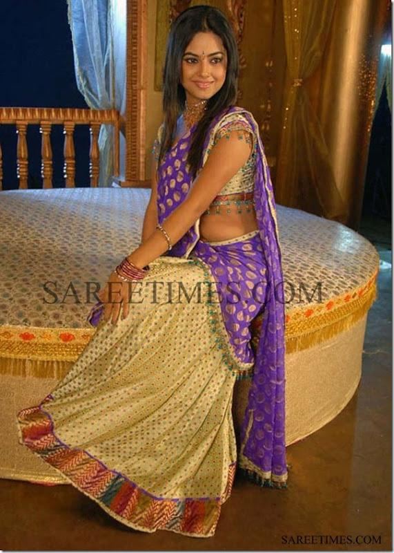 Meera_Chopra_Half_Saree
