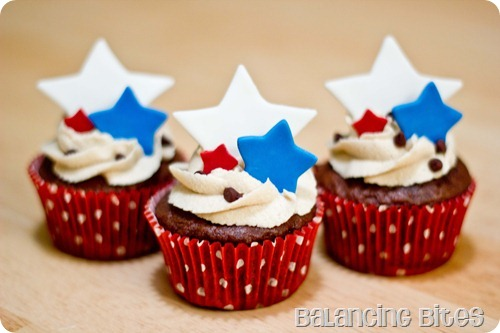 4th July Cupcakes A