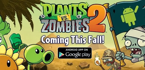 Plants-vs-Zombies-2 para Android