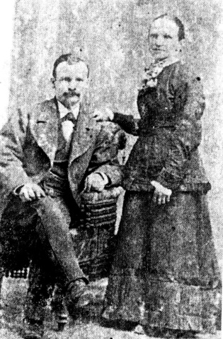 Theodore & Marie E. Naegeli Brandley, Utah 1