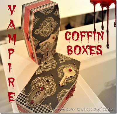 Vampire Coffin Boxes