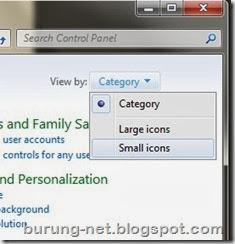 pilih small icons