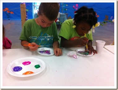 painting sun catchers