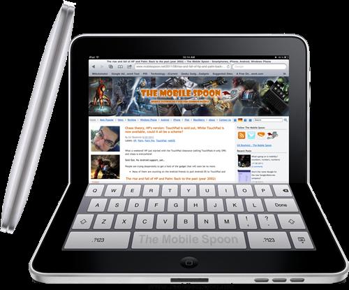 Flexible iPad Collapsed