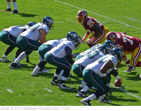 'Eagles vs Redskins 10/16/11' photo (c) 2011, Matthew Straubmuller - license: http://creativecommons.org/licenses/by/2.0/