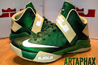 nike zoom soldier 6 pe svsm away 3 01 Nike Zoom LeBron Soldier VI Version No. 5   Home Alternate PE