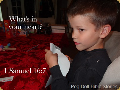 God looks at your heart
