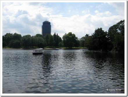 The Serpentine in Hyde Park.
