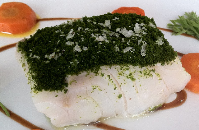 AKRAME COD WITH SPINACH POWDER 7 11