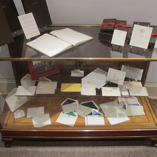 This treasure-chest houses some of the more notable client stationery from the company's repertoire, including some of the most famous actors, politicians, and businesses of the 21st century.