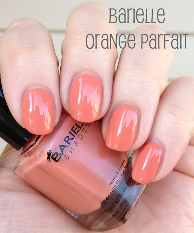 Barielle Orange Parfait