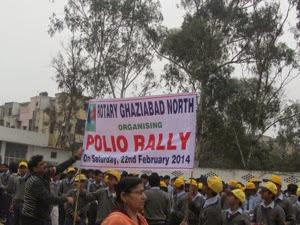PH Polio Rally Sign