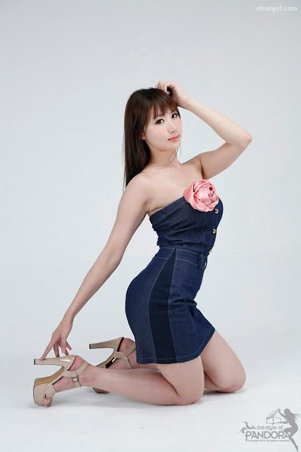 Foto Hot Yeon Da Bin in Blue Denim | Foto Artis Bugil | Video Bokep ...