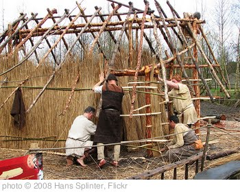 'building a bronzeage house' photo (c) 2008, Hans Splinter - license: http://creativecommons.org/licenses/by-nd/2.0/