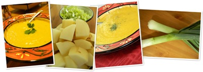 View potato leek soup