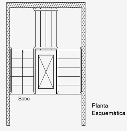 planta escada
