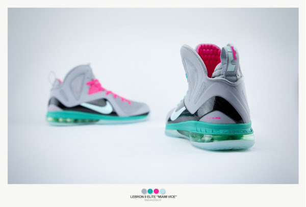 Nike LeBron 9 Elite 8220Miami Vice8221 Ultimate Gallery by Sneakerbox