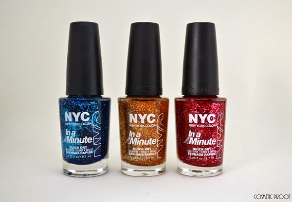 New York Color NYCBeautyPro NYFW Nail Art Review Swatch (2)