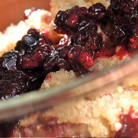 Easy Gluten Free Fruit Cobbler