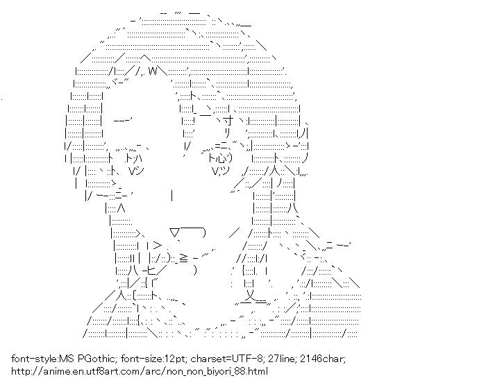 Non Non Biyori,Koshigaya Yukiko