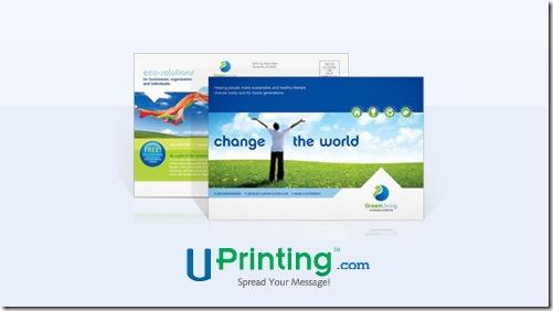 Uprinting postcard-standard