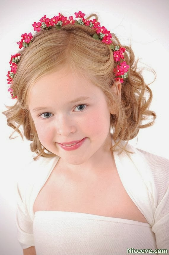 cute simple hair styles 2014 Short Pageant Hairstyles for Little Girls