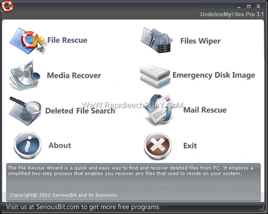 UndeleteMyFiles Pro - File Rescue icon