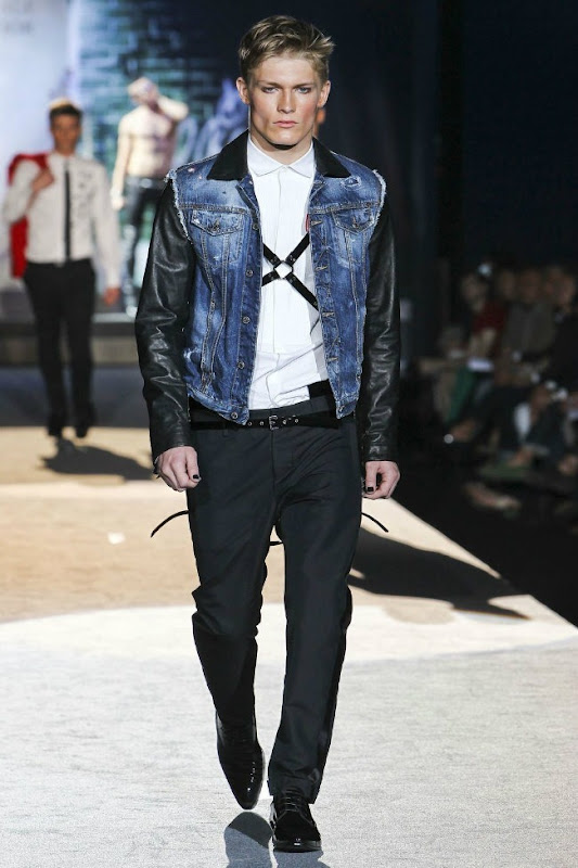 Milan Fashion Week Primavera 2012 - Dsquared² (9)