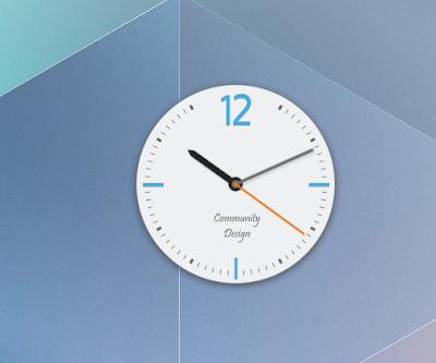 Plasmoide Clock in Plasma Next