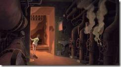 Spirited Away Entering the Boiler Room